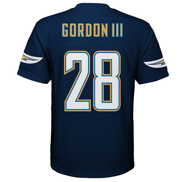 Boys 8-20 Los Angeles Chargers Melvin Gordon Replica Jersey
