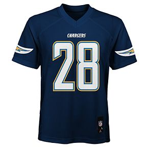 Boy's 8-20 NFL Los Angeles Chargers Mid Tier Replica Jersey