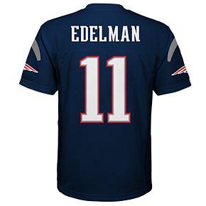Boy's 8-20 NFL New England Patriots Mid Tier Replica Jersey