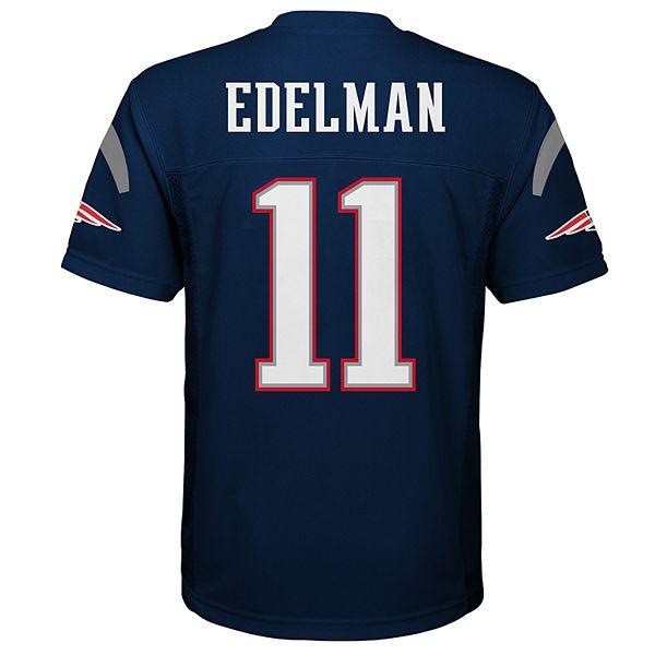 Boys 8-20 New England Patriots Julian Edelman Replica Jersey