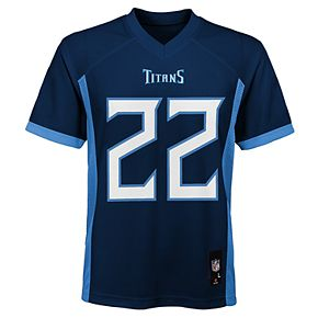 Boy's 8-20 NFL Tennessee Titans Mid Tier Replica Jersey
