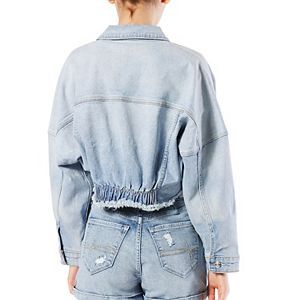 Juniors' DENIZEN from Levi's® Cropped Trucker Jacket