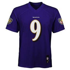 Boy's 8-20 NFL Baltimore Ravens Mid Tier Replica Jersey