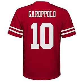 Boy's 8-20 NFL San Francisco 49ers Mid Tier Replica Jersey