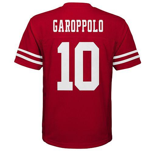 Boys 8-20 San Francisco 49ers Jimmy Garoppolo Replica Jersey