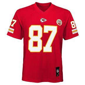 Boy's 8-20 NFL Kansas City Chiefs Mid Tier Replica Jersey