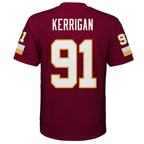 Boys 8-20 Washington Redskins Ryan Kerrigan Replica Jersey