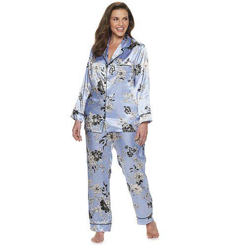 Women's Apt. 9® Floral Print 2 Piece Pajama Set