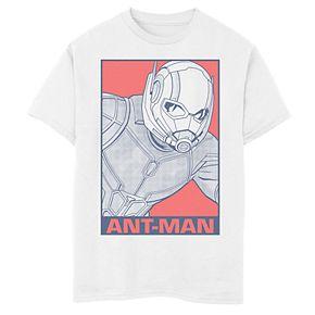 Boys' Marvel Avengers Endgame Ant-Man Pop Poster Graphic Tee