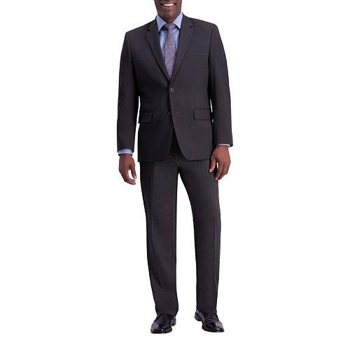 Men's J.M. Haggar Premium Classic-Fit Flat-Front Stretch Suit Pants