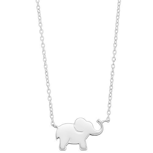 Women's love this life Elephant Necklace