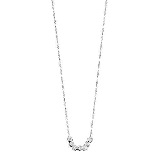 Women's love this life Diamond Cut Bead Necklace