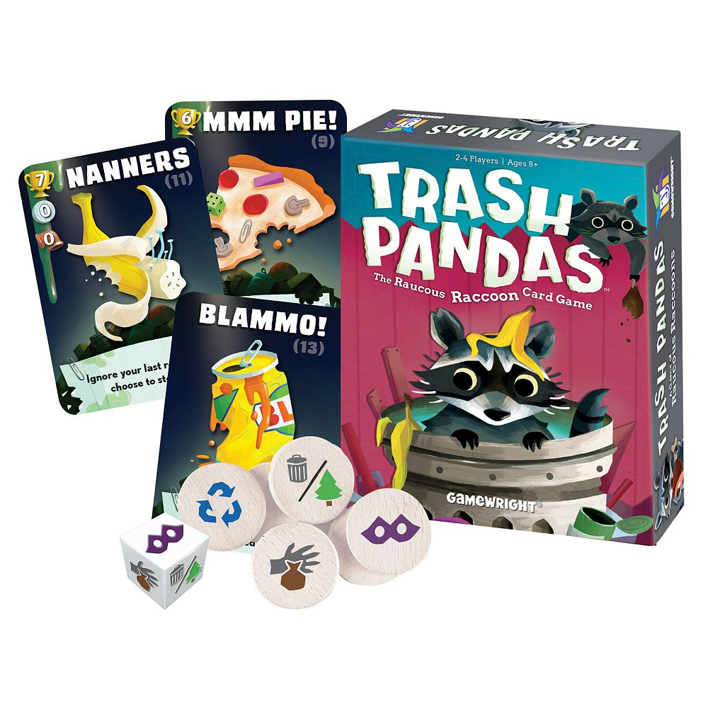 Ceaco Trash Pandas Card Game