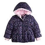 Toddler Girl ZeroXposur Faux-Fur-Hooded Puffer Jacket