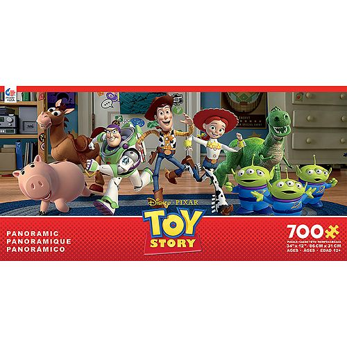 Disney's Toy Story 700-Pc. Panoramic Jigsaw Puzzle