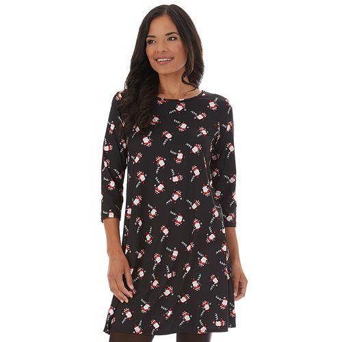 Women's Dress Works Holiday Swing Dress