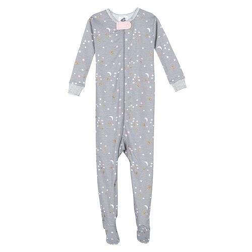 Baby Girl Just Born® Unicorn One Piece Organic Cotton Pajama