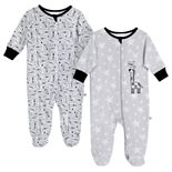 Baby Just Born® Giraffe 2 Pack Zip-front Sleep 'n Play