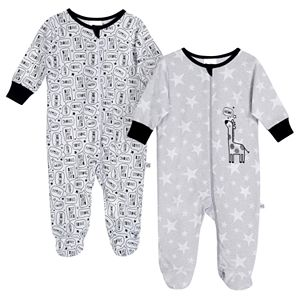Baby Just Born® Giraffe 2 Pack Zip-front Sleep 'n Play