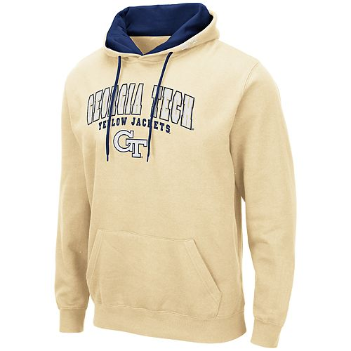 Men's NCAA Georgia Tech Yellow Jackets Pullover Hooded Fleece