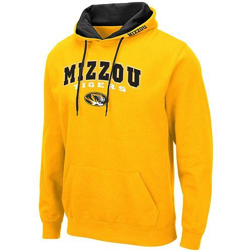 Men's NCAA Mizzou Pullover Hooded Fleece