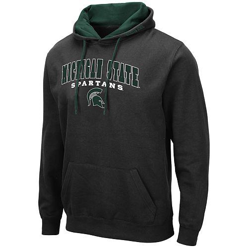 Men's NCAA Michigan State Pullover Hooded Fleece