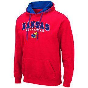 Men's NCAA Kansas Pullover Hooded Fleece