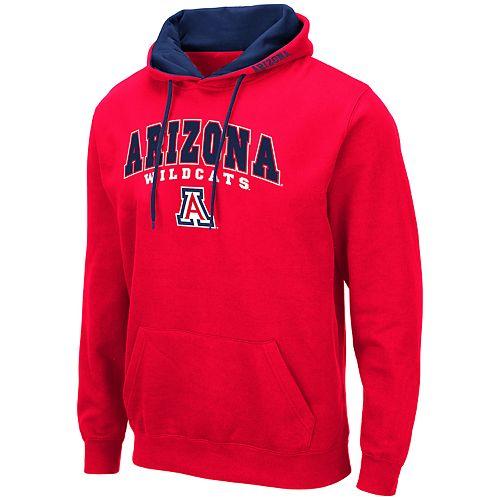 Men's NCAA Arizona Pullover Hooded Fleece