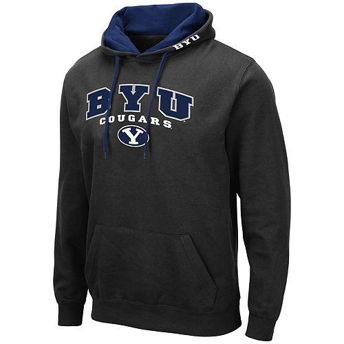 Men's NCAA BYU Pullover Hooded Fleece