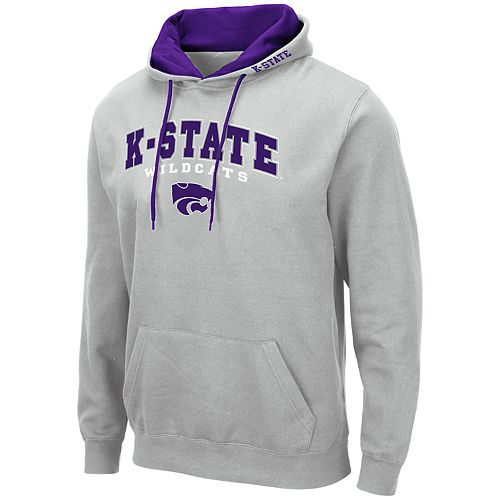 Men's NCAA K-State Pullover Hooded Fleece