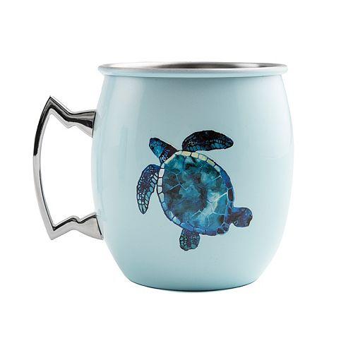 Cambridge 20-oz. Stainless Steel Turtle Moscow Mule Mug