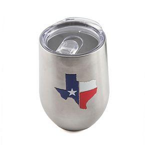 Cambridge 14-oz. Stainless Steel Texas Flag Tumbler