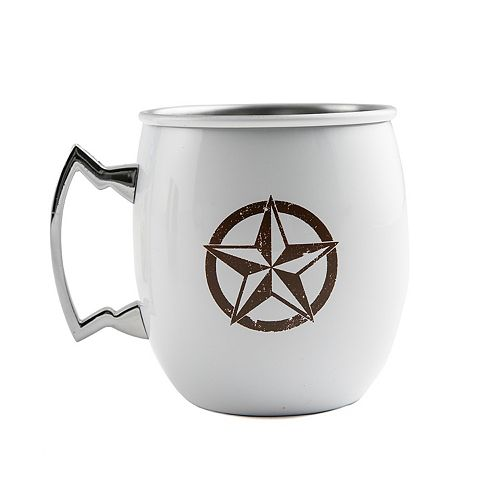 Cambridge 20-oz. Stainless Steel Texas Star Moscow Mule Mug
