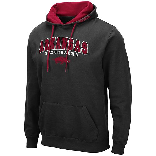 Men's NCAA Arkansas Pullover Hooded Fleece