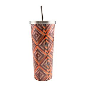 Cambridge 24-oz. Stainless Steel Print Cup with Straw