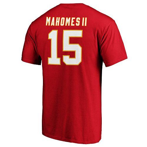 Men's Kansas City Chiefs Patrick Mahomes II Player Tee