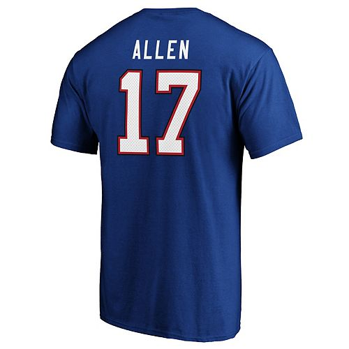 Mens Buffalo Bills Josh Allen Player Tee