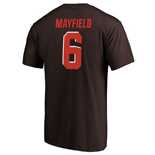 Men's Cleveland Browns Baker Mayfield Player Tee