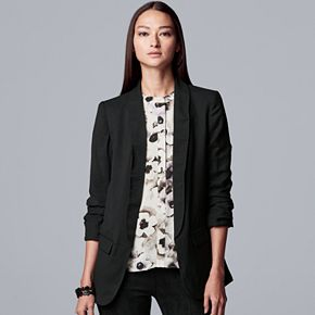 Women's Simply Vera Vera Wang Slouch Sleeve Blazer