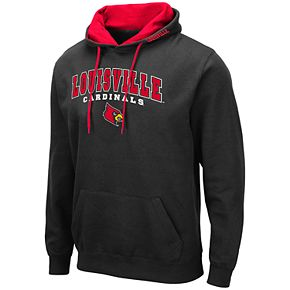 Men's NCAA Louisville Pullover Hooded Fleece