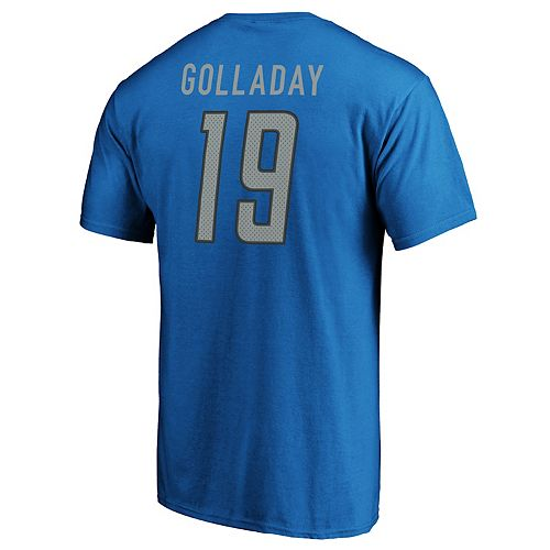 Men's Detroit Lions Kenny Golliday Player Tee