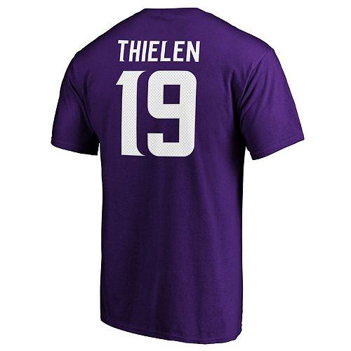 Men's Minnesota Vikings Adam Thielen Player Tee