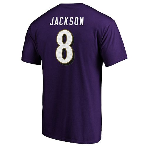 Men's Baltimore Ravens Lamar Jackson Player Tee