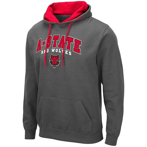 Men's NCAA A-State Red Wolves Pullover Hooded Fleece