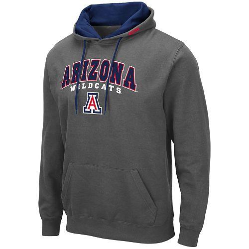Men's NCAA Arizona Wildcats Pullover Hooded Fleece