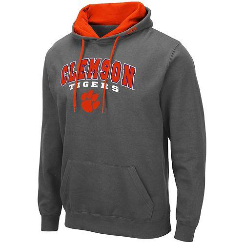 Men's NCAA Clemson Tigers Pullover Hooded Fleece