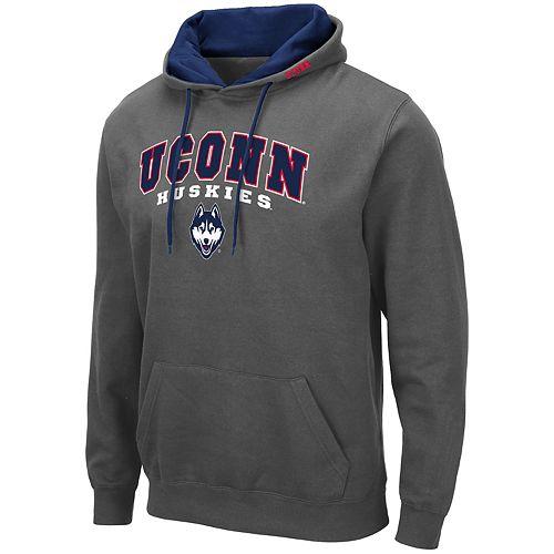 Men's NCAA UConn Pullover Hooded Fleece