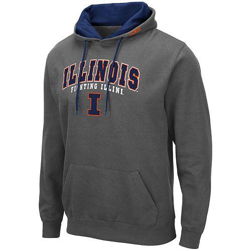 Men's NCAA Illinois Fighting Illini Pullover Hooded Fleece