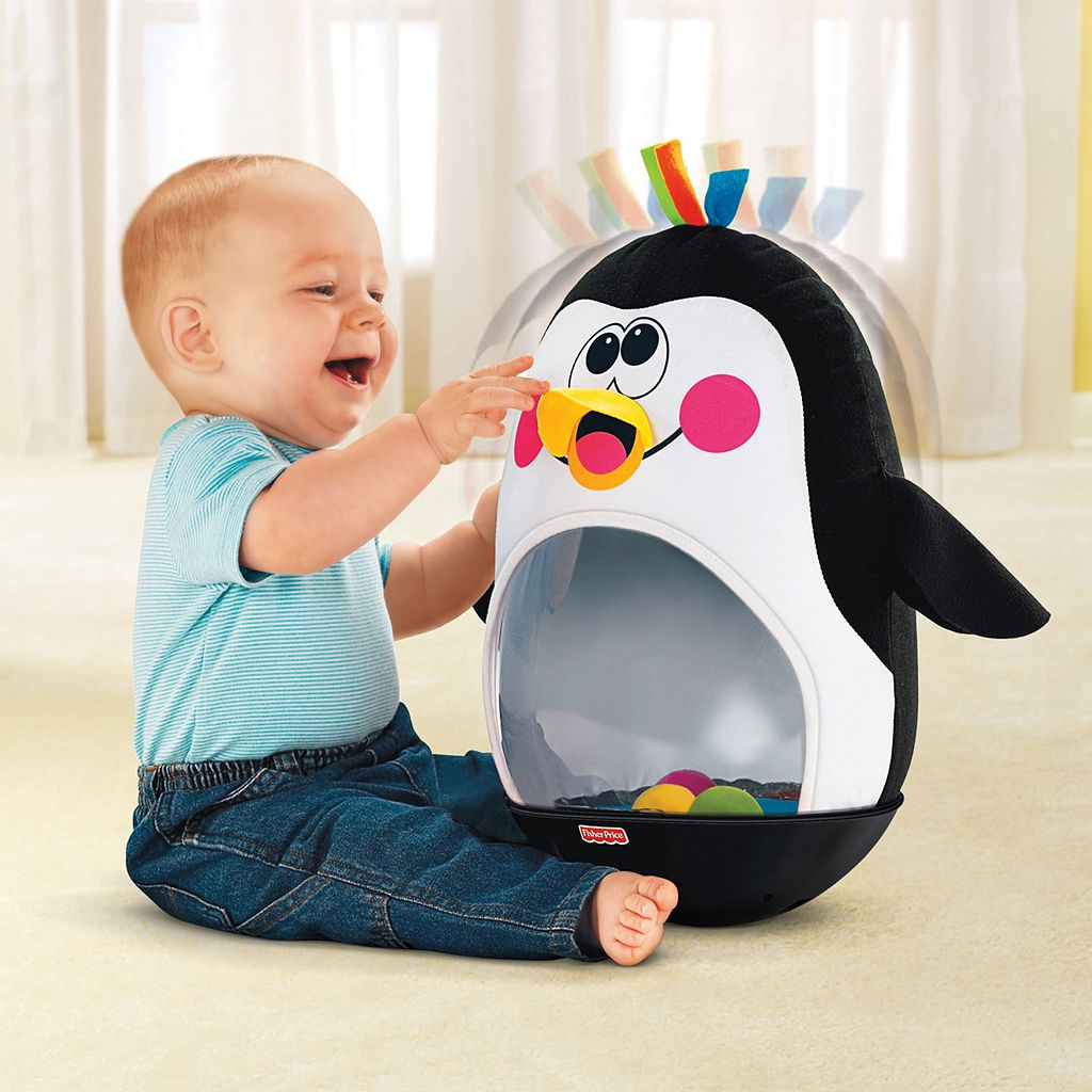 Fisher-Price Go Baby Go Bat and Wobble Penguin