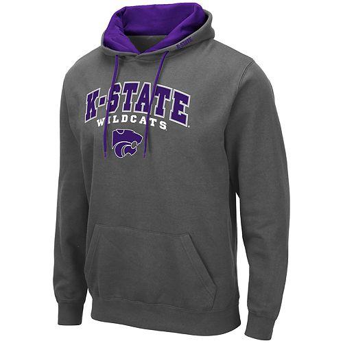 Men's NCAA K-State Wildcats Pullover Hooded Fleece